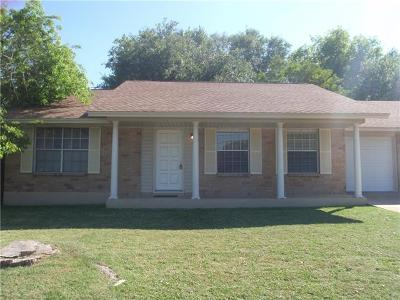 Travis County, Williamson County Single Family Home Pending - Taking Backups: 5111 Duval Rd