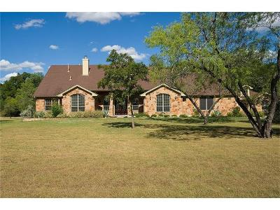 Buda Single Family Home Pending - Taking Backups: 1487 Little Bear Rd