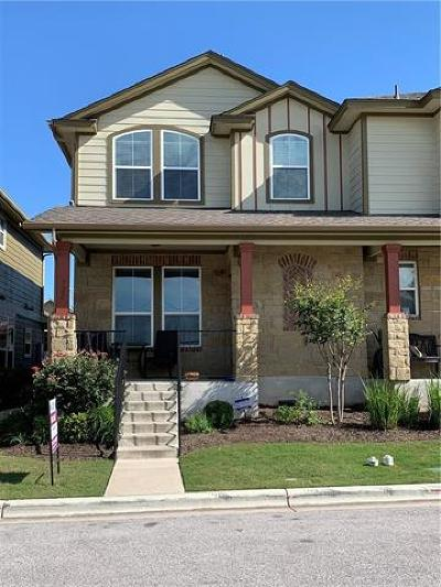 Cedar Park Condo/Townhouse For Sale: 722 Lost Pines Ln