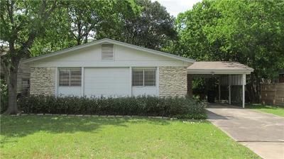Travis County Single Family Home Pending - Taking Backups: 8302 Reeda Ln