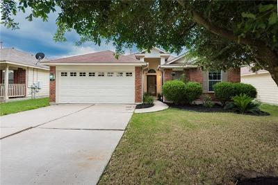 Hutto Single Family Home For Sale: 115 Fistral Dr