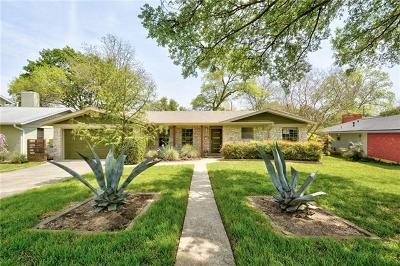 Austin Single Family Home Active Contingent: 6605 Jamaica Ct