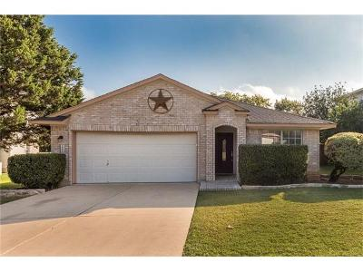 Cedar Park Single Family Home For Sale: 1800 Timberwood Dr