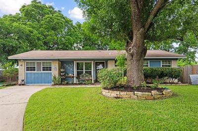 Austin Single Family Home For Sale: 9908 Plover Dr