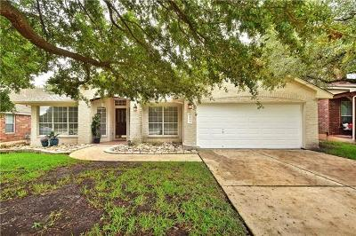 Cedar Park Single Family Home For Sale: 1604 Buttercup Creek Blvd