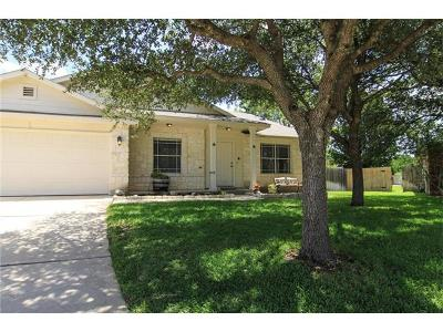 Round Rock Single Family Home For Sale: 4116 Natural Bridge Ct