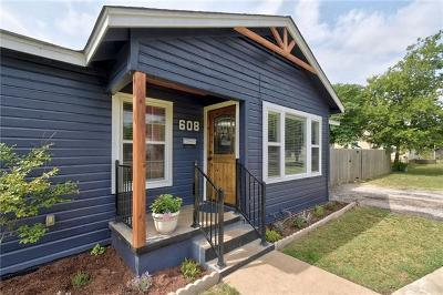 Georgetown Single Family Home For Sale: 608 E 18th St
