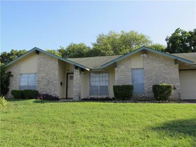 Travis County Single Family Home For Sale: 1703 Pebble Brook Dr
