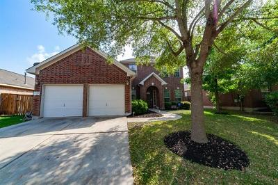 Manor Single Family Home Pending - Taking Backups: 13432 Breezy Meadow Ln