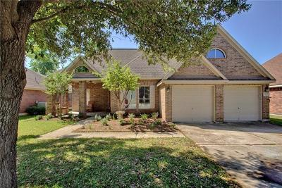 Round Rock Single Family Home For Sale: 4409 S Summercrest Loop