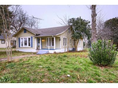 Williamson County Single Family Home For Sale: 507 E Elm St