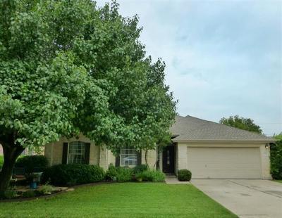 Pflugerville Single Family Home For Sale: 2704 Butler National Dr