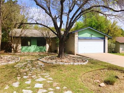 Austin Single Family Home For Sale: 12409 Sparkling Creek Cir