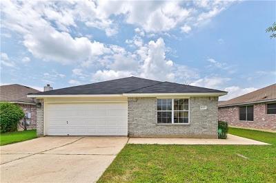 Austin Single Family Home Pending - Taking Backups: 14705 Rumfeldt St