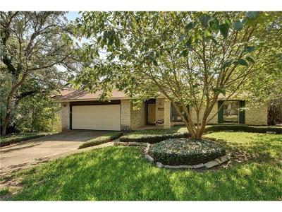 Travis County Single Family Home Pending - Taking Backups: 1703 Thousand Oaks Cir