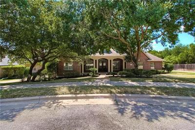 Round Rock Single Family Home Pending - Taking Backups: 3504 Palmer Cv