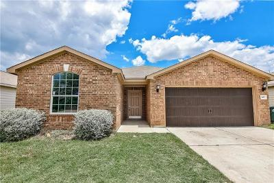 Jarrell Single Family Home For Sale: 409 Sapphire Ln