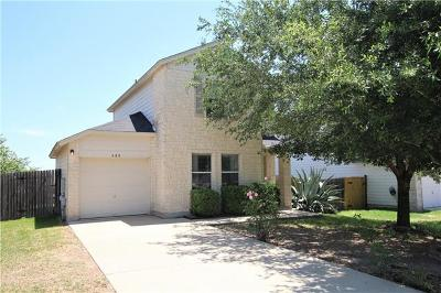 Kyle Single Family Home For Sale: 480 Sheep Trail Dr