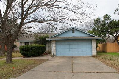 Round Rock Single Family Home Pending - Taking Backups: 1700 W Mesa Park Dr