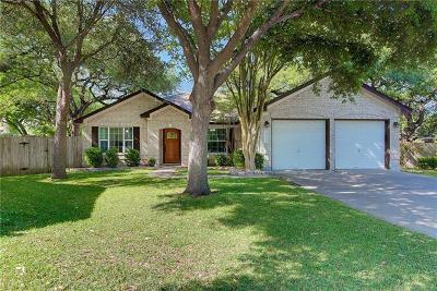 Travis County Single Family Home Pending - Taking Backups: 5520 Meg Brauer Way
