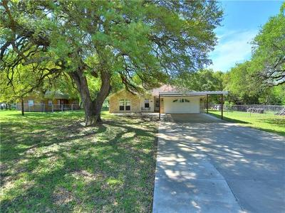 Liberty Hill Single Family Home Pending - Taking Backups: 104 Nita Cv