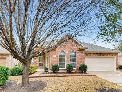 Round Rock Single Family Home For Sale: 766 Bent Wood Pl