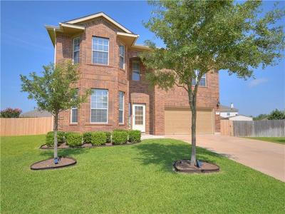 Pflugerville Single Family Home For Sale: 4501 Hees Ct