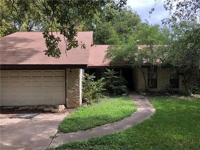 Round Rock Single Family Home For Sale: 1005 Stillhouse Spg
