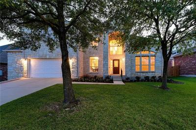Cedar Park Single Family Home For Sale: 3109 Argento Pl