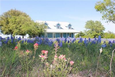 Hutto Single Family Home For Sale: 2287 County Road 105