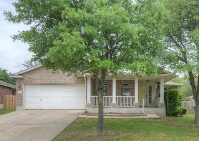 Round Rock TX Single Family Home Pending - Taking Backups: $255,000