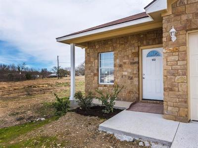 Williamson County Single Family Home For Sale: 102 Ave. C
