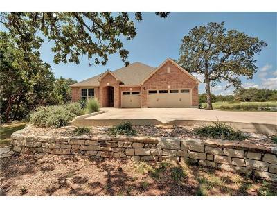 Driftwood Single Family Home For Sale: 1801 Flint Rock Loop