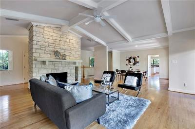 Austin Single Family Home For Sale: 3723 Lost Creek Blvd