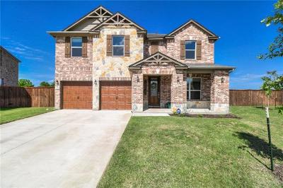 Leander Single Family Home For Sale: 1308 Decatur Ct