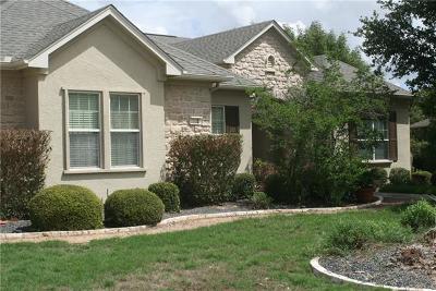 Georgetown Single Family Home Pending - Taking Backups: 115 Durango Trl