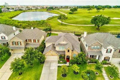 Round Rock Single Family Home For Sale: 1627 Greenside Dr