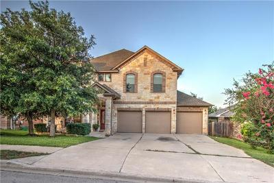 Round Rock Single Family Home For Sale: 4219 Adagio Pl