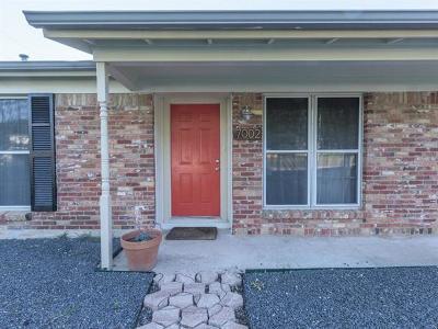 Travis County Single Family Home For Sale: 7002 Miranda Dr