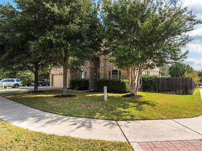Round Rock Single Family Home For Sale: 4500 Corazon Cv
