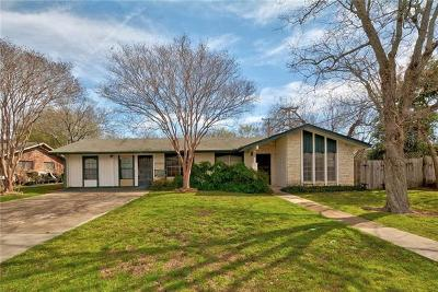 Round Rock Single Family Home For Sale: 301 Brentwood St