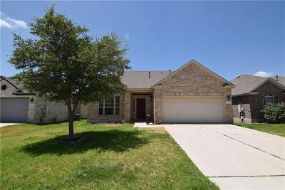 Pflugerville Single Family Home For Sale: 3304 Winding Shore Ln