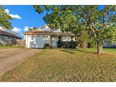 Round Rock Single Family Home Pending - Taking Backups: 2107 Andover Dr