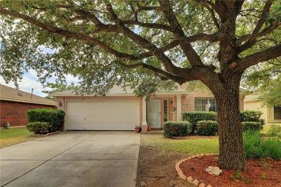 Leander Single Family Home For Sale: 16207 Copper Leaf Ln