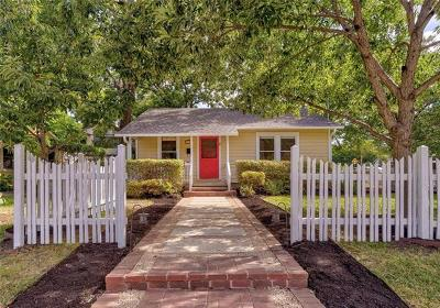 Austin Single Family Home For Sale: 1800 W Saint Johns Ave