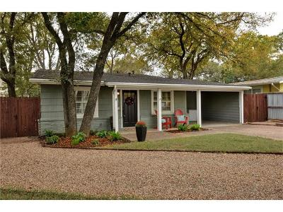 Austin Single Family Home For Sale: 2105 Westover Rd