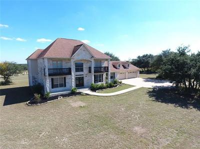 Liberty Hill Single Family Home For Sale: 160 N Showhorse Dr