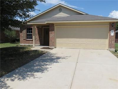 Hutto Rental For Rent: 111 Mossy Rock Cv