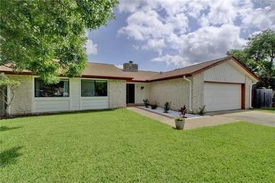 Travis County, Williamson County Single Family Home For Sale: 10502 Wagon Gap Dr