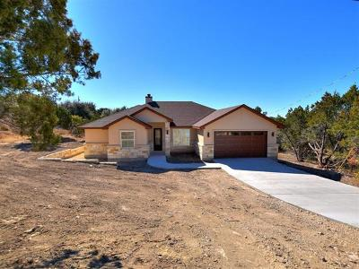 Lago Vista Single Family Home For Sale: 20807 National Dr